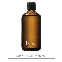 piezo aroma oilClean air クリーンエアC03 CLEAN FOREST  クリーンフォレスト 100ml DP 涼しげなインテリア 楽しい家作り