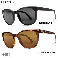 ELECTRIC エレクトリック SUNGLASS BENGAL サングラス GLOSS BLACK/M GREY・GLOSS TORTOISE/M BRONZE Made in ITALY