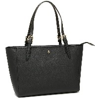 トリーバーチ バッグ TORY BURCH 31159781 15001 YORK SMALL TOP-ZIP BUCKLE TOTE トートバッグ BLACK