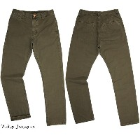 【SALE】30%OFF★Nudie Jeans co/ヌーディージーンズ KHAKI REGULAR/カーキレギュラー REGULAR LOOSE FIT TAPERED LEG ORG....
