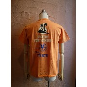 ★BUZZ RICKSON'Sバズリクソン★LOCKHEED MARTIN TEEスカンクワークス THE SKUNK WORKS『FIGHTIN FORTYNINERS』S/S T-SHIRT...
