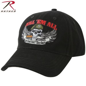 15%OFFクーポン対象商品!ROTHCO ロスコ Deluxe Kill 'Em All Low Profile Cap 【9599】《WIP》 男性 ギフト プレゼント