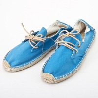 SOLUDOS ソルドス エスパドリーユ レースアップ Lace Up Canvas Derby Blue サイズ:38