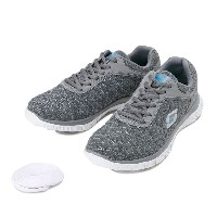 レディース 【SKECHERS】 スケッチャーズ FLEX APPEAL - EYE CATCHER 12062 GRY