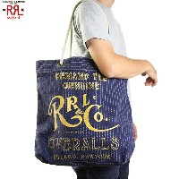 RRL (double RL) Canvas Tote Bag ダブルアールエル トートバッグ