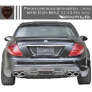 【M's】W216 C216 ベンツ CLクラス (06y-10y) CL550 CL600 WALD SPORTS LINE Black Bison リアバンパースポイラー // BENZ...