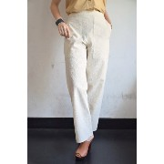 LEMAIRE(ルメール)/ELASTICATED PANTS CROPPED クロップドパンツ(CREAM)