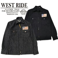 【WESTRIDE ウエストライド】ジャケット/13STAR JACKET★送料・代引き手数料無料!REAL DEAL