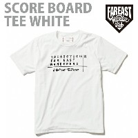 FEW-14SS-0501 SCOREBOARD T-SHIRTS WHITE