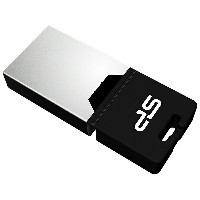 SILICON POWER microUSB − USB-A 2.0メモリ [Android/Mac/Win/Linux] Mobile X20(8GB) SP008GBUF2X20V1K