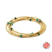 Sunku/39/サンクSK-113 Small Beads Long NecklaceビーズネックレスNecklace/ネックレス/Bracelet/ブレスレットSilver925...
