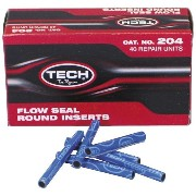 【USA在庫あり】 15-0248 204 TECH INC. タイヤ REP RD SEAL PLUGS BX/40