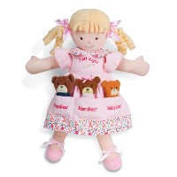 ノースアメリカンベア ぬいぐるみ 人形 女の子 North American Bear Dolly Pockets Goldilocks and The 3 Bears Plush