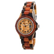 テンス 時計 メンズ 腕時計 木製 Tense Multicolored Inlaid Sports Watch Mens G4100IDM Arabic ANLF