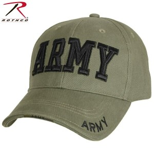 ROTHCO ロスコ Deluxe Army Low Profile Cap Olive Drab【9508】 ミリタリーキャップ メンズ 帽子