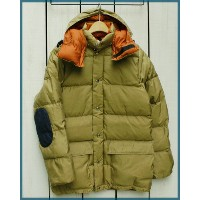 Crescent Down Works Custom Made Classico Down Parka / jacket Tan 60/40 Rust / made in USA クレセント...