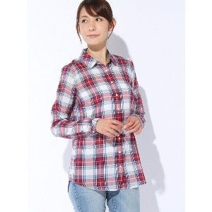 【SALE/50%OFF】TOMMY HILFIGER (W)Basic check cheesecloth shirt l/s 7 トミーヒルフィガー シャツ/ブラウス【RBA_S】【RBA_E】...