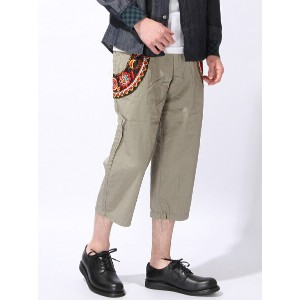 ALDIES Decoration Cropped Pants アールディーズ【送料無料】