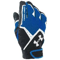 アンダーアーマー メンズ 野球 グローブ【Under Armour Clean Up VI Batting Gloves】Royal/Black/White
