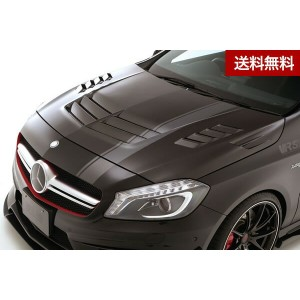 VRS A45 AMG COOLING BONNET HOOD【SYSTEM-2 with side finduct】 VSDC