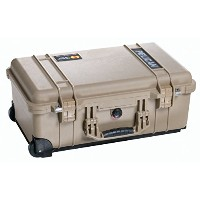 Pelican ペリカン 1510 Case with Foam (Black) (タン)