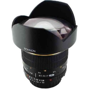 Rokinon ロキノン 14mm Ultra Wide-Angle f/2.8 IF ED UMC Lens 広角 For Sony (ソニ-αマウント)