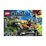 Game / Play LEGO (レゴ) Chima Laval Royal Fighter 70005, Includes 3 ミニフィギュア 人形: Laval, lo