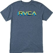 ルーカ RVCA メンズ トップス Tシャツ【Third Dimension Slim T-Shirt】Stellar