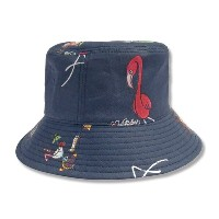 "KUSTOMSTYLE KSBH1617 ""SANTA CATALINA"" TROPICAL BUCKET HAT"