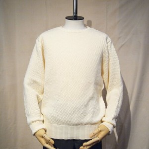 BLURHMSRoughness Knit P/O-Off-