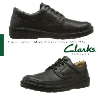 【Clarks】クラークスネイチャーII メンズ Clarks Nature II Black Grained Leather 00111553