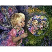 クロスステッチ刺繍図案 Heaven And Earth Designs(HAED) - Josephine Wall - Fairy Bubbles