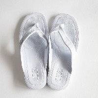 GLOCAL STANDARD PRODUCTS / G.S.P SANDALS (WH) LL(26cm)【グローカルスタンダードプロダクツ/ホワイト/サンダル/ギョサン/PEARL】[112159