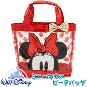 Disney US ミニーマウス ビーチバッグ プールバッグ ディズニーストア Disney Minnie Mouse