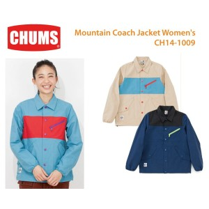 【CHUMS チャムス】 CH14-1009<Mountain Coach Jacket Women's-マウンテンコーチジャケット>※取り寄せ品