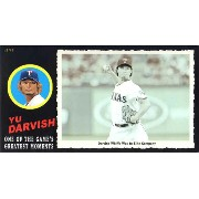ダルビッシュ有 2012 Topps Box Jumbo Card /99 Yu Darvish