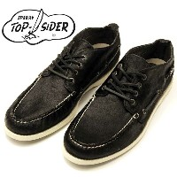 SPERRY スペリー TOP SIDER トップサイダー チャッカ ハラコ 黒 あす楽