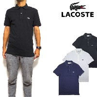LACOSTE ラコステ ポロシャツ メンズ スリムフィット PH4012 Mens Slim Fit Pique Polo ビズポロ