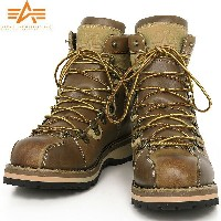 10%OFFクーポン対象品!ALPHA INDUSTRIES アルファ AF1941 MOUNTAIN BOOTS マウンテンブーツ TAN《WIP》 ミリタリー 男性 ギフト プレゼント
