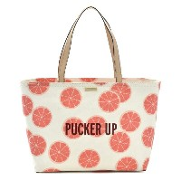 【FINAL SALE】ケイトスペード KATE SPADE バッグ PUCKER UP FRANCIS トートバッグ PXRU6814 0006 974