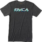 ルーカ RVCA メンズ トップス Tシャツ【Third Dimension Slim T-Shirt】Black