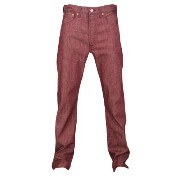 リーバイス メンズ ボトムス ジーンズ【Levi's 501 Shrink To Fit Jeans】Tibetan Red Crispy Neppy