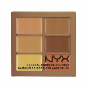 NYX Conceal, Correct, Contour Palette /NYX カラーコレクティング コンシーラーパレット 色[03 Deep ディープ]