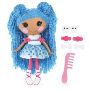 Lalaloopsy Loopy Hair Doll - Mittens Fluff 'N' Stuff ドール 人形 おもちゃ