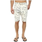 ホウ メンズ 水着 水着 Cataline Print Walkshort Swim Shorts Bone