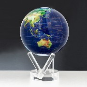 MOVA Globe(ムーバ・グローブ)「Satellite View with Gold Lettering」6インチ 【P01】【flash】