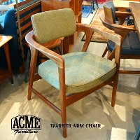 WARNER ARM CHAIR(ワーナーアームチェア)ACME Furniture(アクメファニチャー) 送料無料