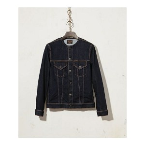 【SALE/20%OFF】MR.OLIVE ONE WASH NO COLLAR G-JACKET ミスターオリーブ コート/ジャケット【RBA_S】【RBA_E】【送料無料】