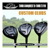 JUSTICKPROCEED R-TOUR CONQUEST TITANIUM FWジャスティックプロシード ツアーコンクェスト アール ツアー チタン フェアウェイウッドシャフト:ディアマナ...