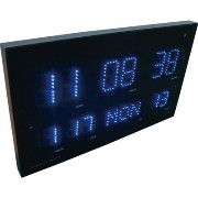 HOUSE USE PRODUCTS(ハウスユ-ズプロダクツ) LED表示 電波掛け時計 LED RADIO CLOCK WEED ACL071 AA-21788